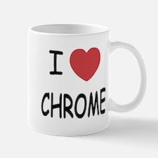 I heart chrome Mug