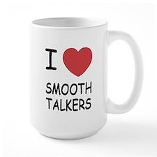 I heart smooth talkers Mug
