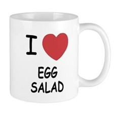 I heart egg salad Mug