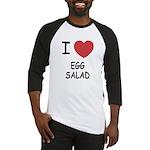 I heart egg salad Baseball Jersey