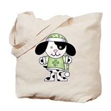 St. Patrick's Puppy Tote Bag