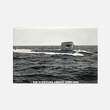 USS NATHANAEL GREENE Rectangle Magnet