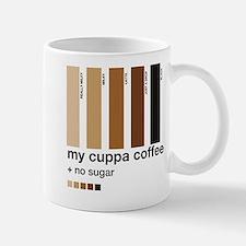 My Cuppa Coffee - No Sugar Mug