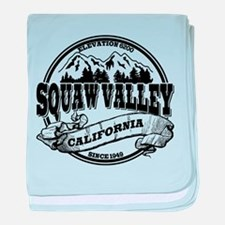 Squaw Valley Old Circle baby blanket