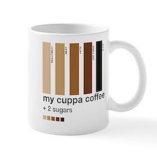 My Cuppa Coffee- 2 Sugars Mug
