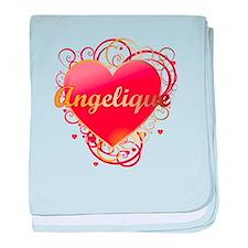 Angelique Valentines baby blanket