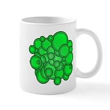 Green Circles Mug