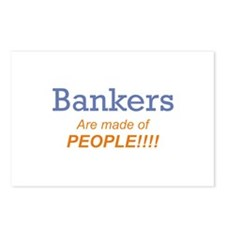 Banker / People Postcards (Package of 8)