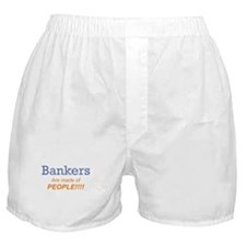 Banker / People Boxer Shorts