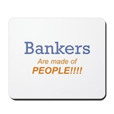 Banker / People Mousepad