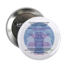 "Wolf Wisdom 2.25"" Button (10 pack)"