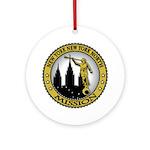 New York New York North LDS M Ornament (Round)