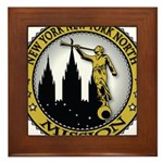 New York New York North LDS M Framed Tile