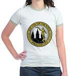 New York New York North LDS M Jr. Ringer T-Shirt