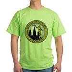 New York New York North LDS M Green T-Shirt