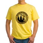 New York New York North LDS M Yellow T-Shirt