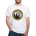 New York New York North LDS M White T-Shirt