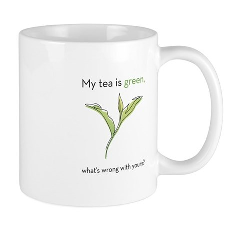 My Tea is Green Mug
