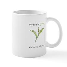 My Tea is Green Mug