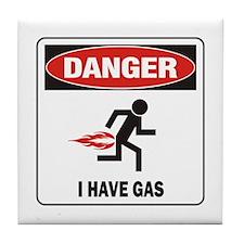 I Have Gas Tile Coaster