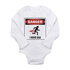 I Have Gas Long Sleeve Infant Bodysuit
