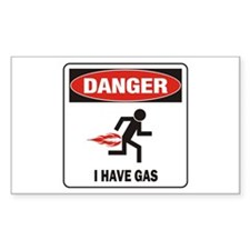I Have Gas Decal