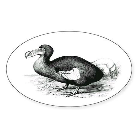 Dodo Nest Oval Sticker