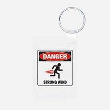 Strong Wind Keychains