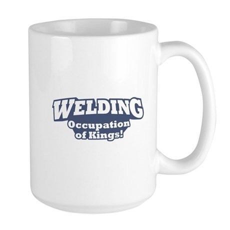 Welding / Kings Large Mug