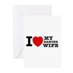Dancer Wife Greeting Cards (Pk of 10)