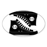 LA Sticker (Oval)