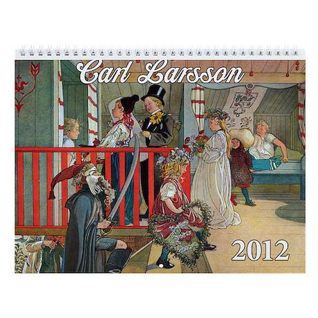 Carl Larsson Wall Calendar