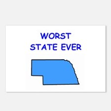 nebraska Postcards (Package of 8)