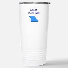 missouri Stainless Steel Travel Mug