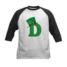 St. Patrick's Day Letter D Tee