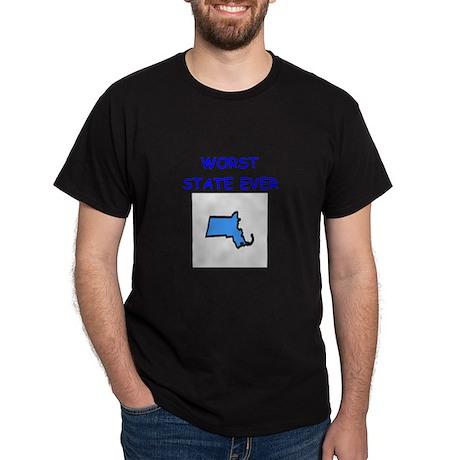 massachusetts Dark T-Shirt