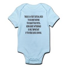 Sharp Mind And Wits Infant Bodysuit