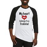 My Heart Belongs to a Trekkie Baseball Jersey