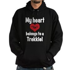 My Heart Belongs to a Trekkie Hoodie