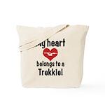 My Heart Belongs to a Trekkie Tote Bag