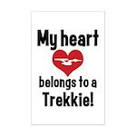 My Heart Belongs to a Trekkie Mini Poster Print