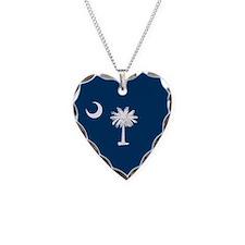 South Carolina Palmetto Flag Necklace