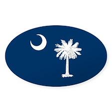 South Carolina Palmetto Flag Decal