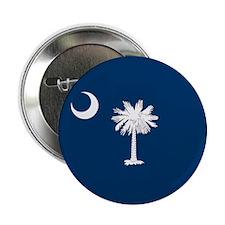 "South Carolina Palmetto Flag 2.25"" Button"