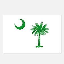 South Carolina Palmetto Flag Postcards (Package of