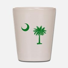 South Carolina Palmetto Flag Shot Glass