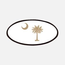 South Carolina Palmetto Flag Patches