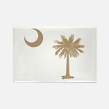 South Carolina Palmetto Flag Rectangle Magnet