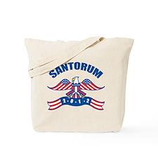 Eagle Rick Santorum Tote Bag