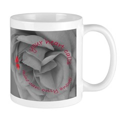 Valentine's Day Cup/Mug:Your Heart Calls, ....